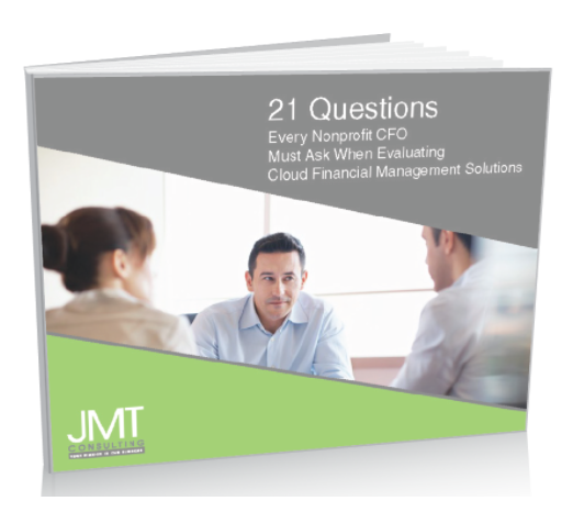 21 Questions Every Nonprofit CFO Must Ask When Evaluating Cloud Financial Management Solutions